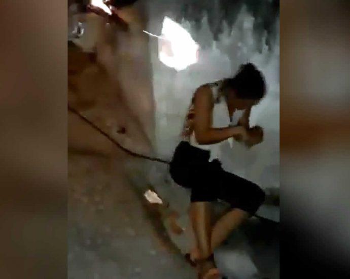 Killing a woman