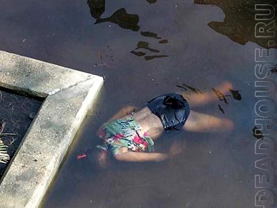 Новый Орлеан. Жертвы урагана КАТРИНА