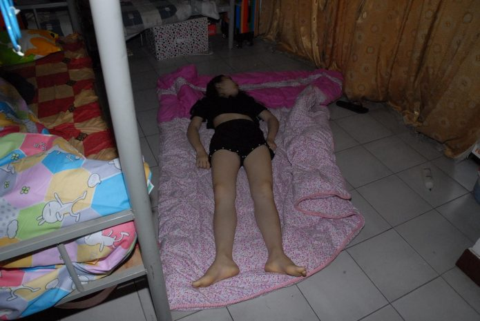 Corpse of a girl