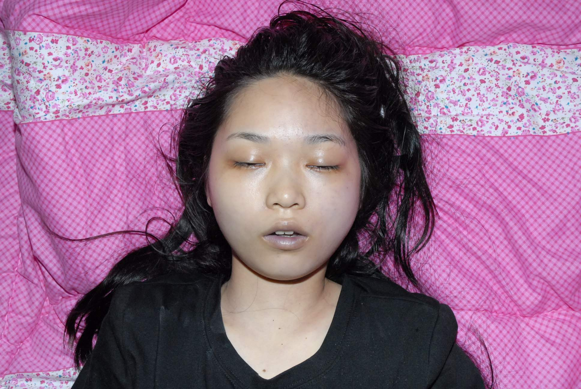 Dead chinese girl