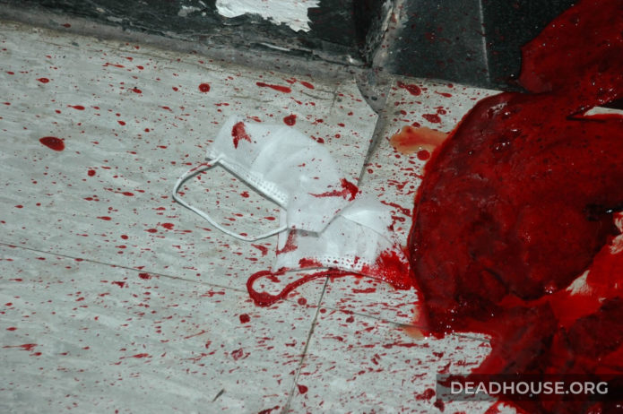 The gory details of the murder