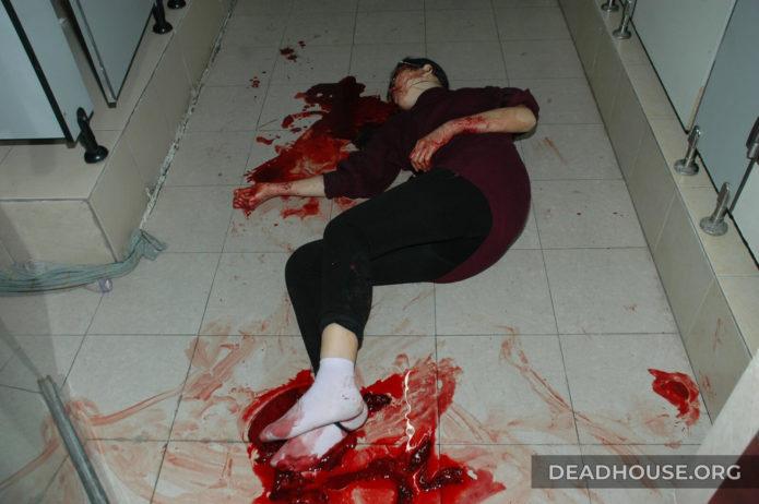 Corpse of a beautiful girl