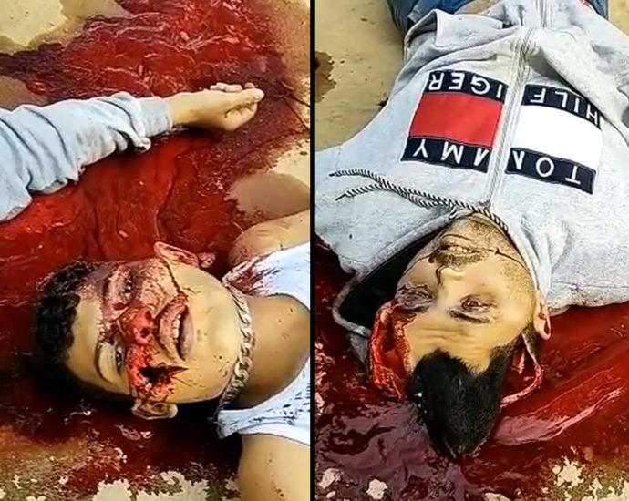 Criminal corpses. Brazil