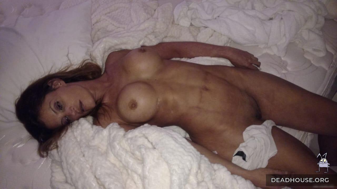 Natacha Jaitt's naked corpse