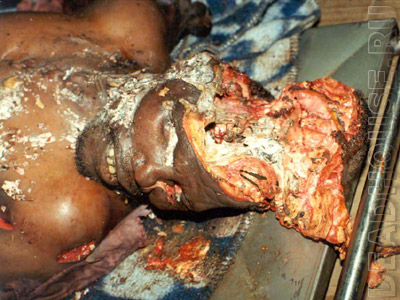 This corpse was used by the voodoo shaman for his purposes