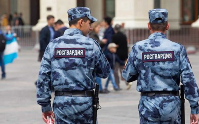 On the night of May 31 to June 1, the employees of the Russian Guard drank alcohol together.
