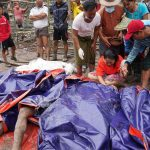 A landslide in Myanmar. Hpakant