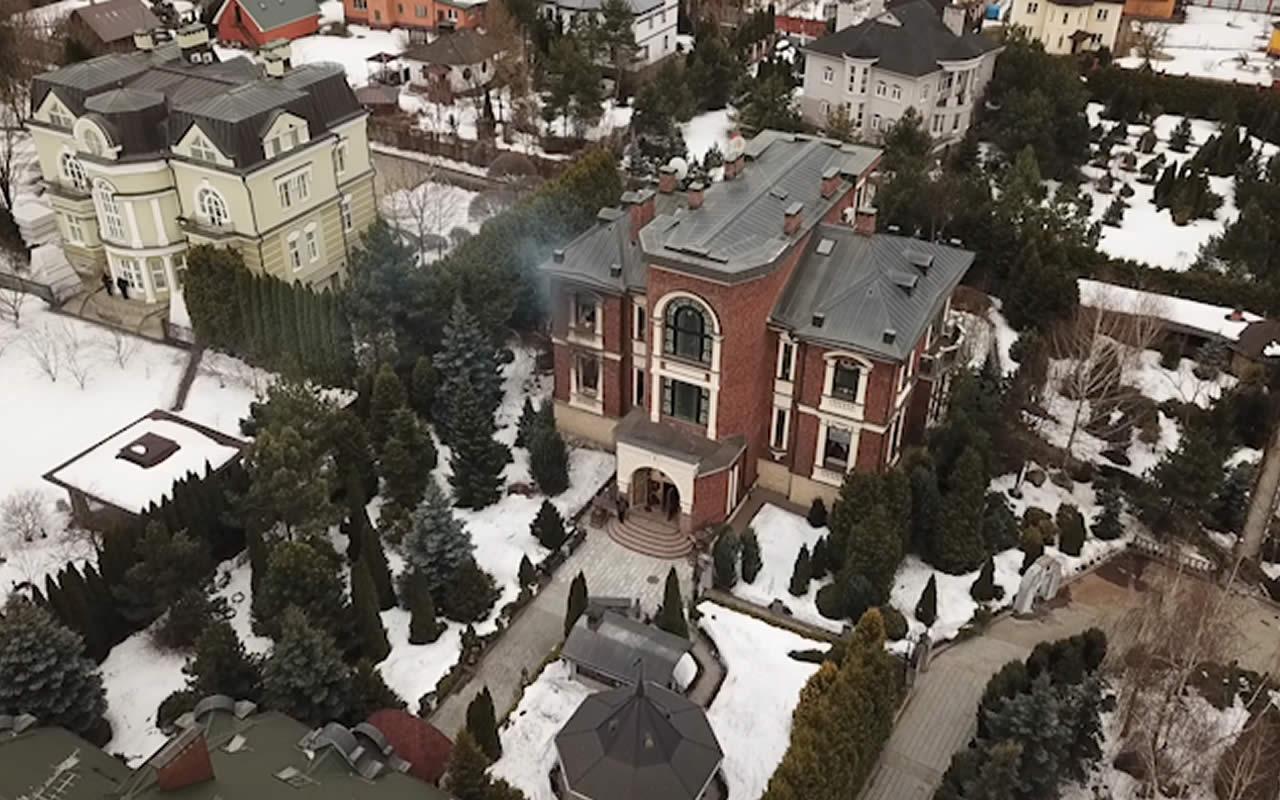 Shooting in Mytishchi. House of Vladimir Burdanov