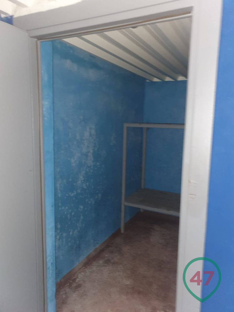 Entrance to the cell of the underground prison