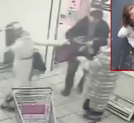 Attack with an ax. Video
