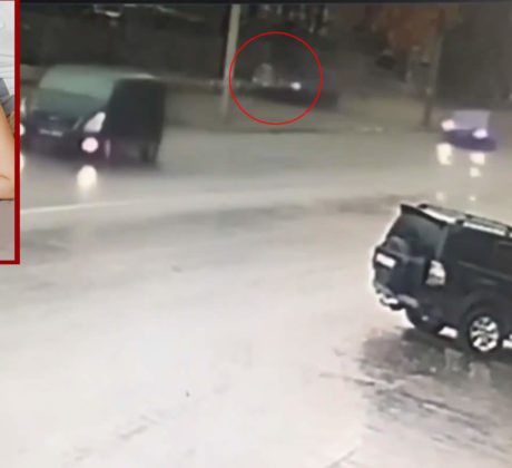 A child was hit by a car. Video. Irina Sheremet