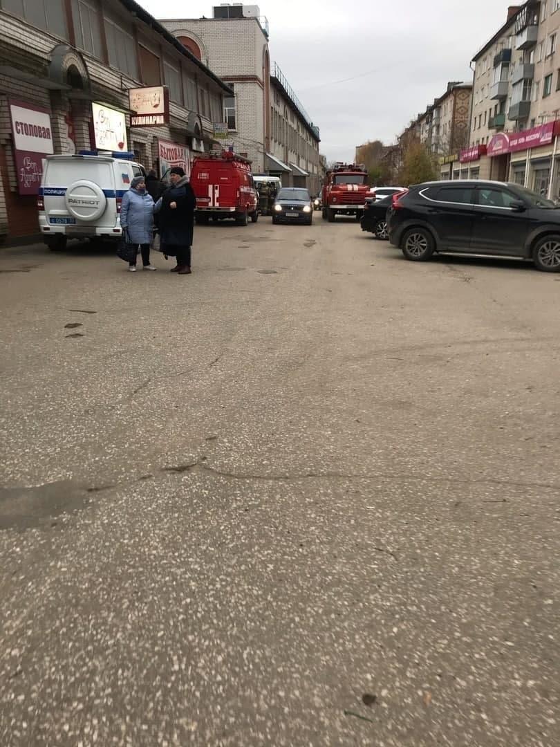 market of the Kovrov city