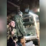A soldier of the Ukrainian army shot himself in the head with an AK