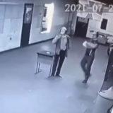 A man shot himself in a shooting range