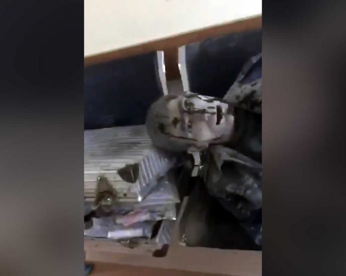 Wounded Azerbaijani police