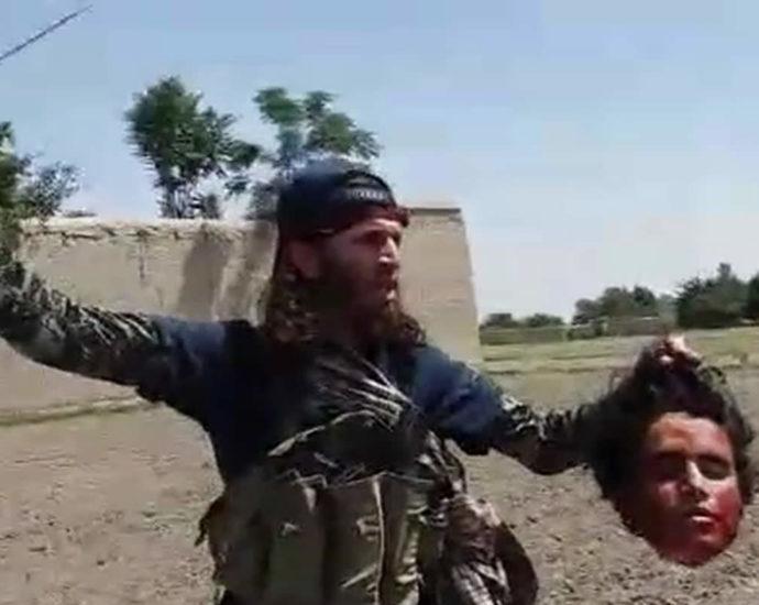 Cut off the head. Video