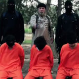 ISIS Execution. Firing squad