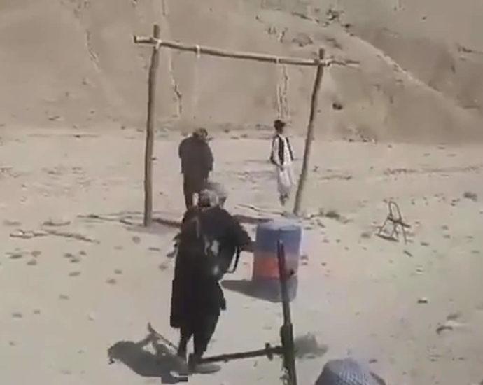 Execution. Hanging