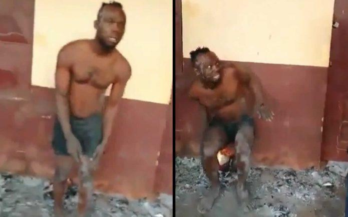 Black guy put on a fire