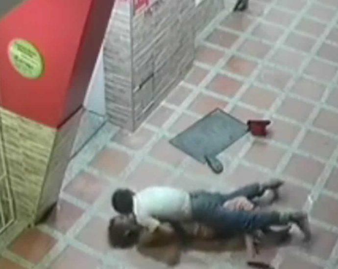 Woman raped in the street