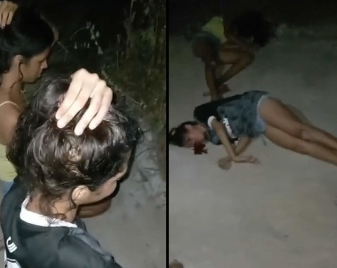 Execution of girls video