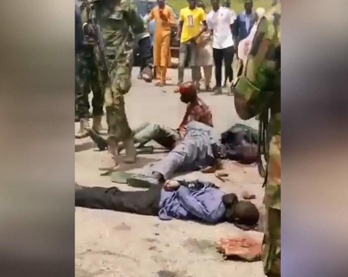 Execution. Stoning. Video